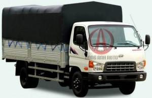 Hyundai New Mighty 7 tấn 1 , thùng mui kín , hỗ trợ 80% vốn ngân hàng