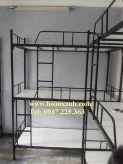 Giường 3 tầng, giường sắt 3 tầng