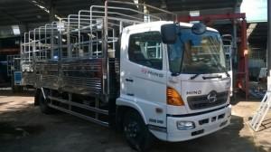 Xe HINO FC 6.4 Tấn thùng mui bạt thùng kín Giao Xe Toàn Quốc