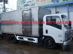 đại lý xe tải trả góp Isuzu QKR55F 1,4 tấn.Xe tải isuzu 1t4( isuzu 1.4 tấn) isuzu 1.4T( isuzu 1 tấn 4) đóng sẵn thùng xe mới 100%