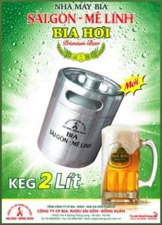 Hợp tác hỗ trợ toàn bộ tài chính vật dụng bán bia hơi Sài Gòn