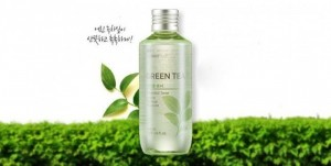 Tươi Mát Làn Da Đẩy Xa Nắng Nóng Nước Hoa Hồng Trà Xanh The Face Shop Green Tea Oil Free Toner