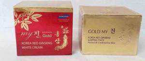 Kem Dưỡng Da Hồng Sâm Vàng Hàn Quốc 50ml