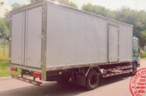 Cần bán xe tải veam 3,49T, veam vt340s thùng kín, nhập khẩu giá tốt