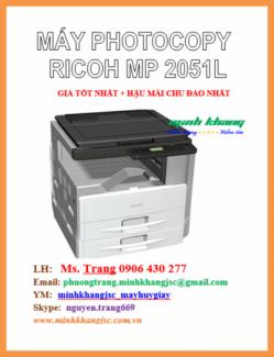 Máy photocopy Ricoh MP 2501L giá tốt nhất HCM