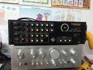 Amply Nanomax PA-1000X.hình thức rất mới,chất lượng tốt.mua mới 2tr2.bán lại 1tr100k ae về hát karaoke