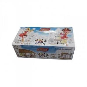 Khăn giấy hộp để bàn yanni  sử dụng rộng rãi từ nhà riêng tới các cơ quan, nhà hàng, khách sạn, resort, máy bay...Với một loại giấy đặc biệt mềm, mịn, dai, không bụi, rất tiện lợi khi sử dụng.