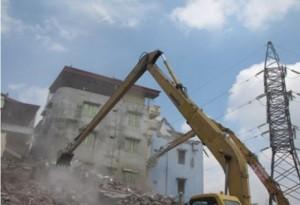 Nhận phá dỡ nhà cũ và đào móng nhà