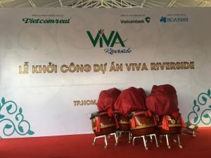 Hoa tươi sự kiện - Lễ khởi công dự án VIVA RiverSide