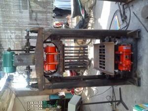 Máy đóng gạch xi măng để sử dụng trong lĩnh vực xây dựng