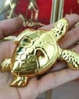 Bật lửa hình con rùa vàng linh thú