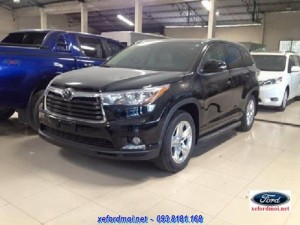 Toyota Highlender Limited 2016