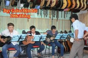Học ghita, guitar ở đâu gò vấp, dạy guitar ở...