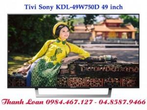 Giới thiệu chiếc Tivi Sony 49W750D 49 inch, Smart tv, Full HD mới nhất 2016