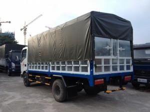 Xe tải VT350, tải trọng 3,5 tấn, động cơ Hyundai, cabin Isuzu