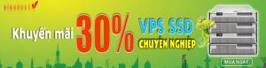 VinaHost khuyến mãi giảm giá 30% các gói VPS SSd chuyên nghiệp
