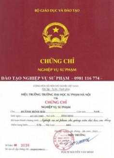 Đào tạo chứng chỉ sư phạm giảng viên ĐH - CĐ cấp tốc tại Lâm Đồng