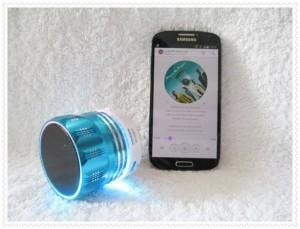 Loa nghe nhạc minin blutooth S9 màu xanh