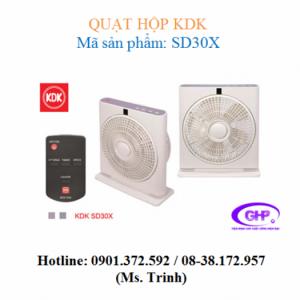 Quạt hộp KDK SD30X (xám bạc, tím bạc) chính hãng