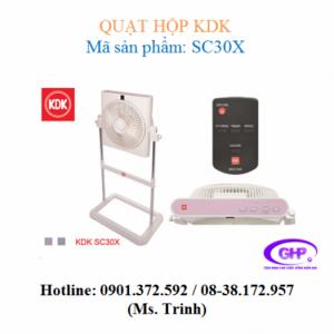 Quạt hộp KDK SC30X (xám bạc, tím bạc) giá tốt