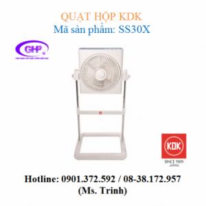 Quạt hộp KDK SS30X (xám bạc, tím bạc) chính hãng giá tốt