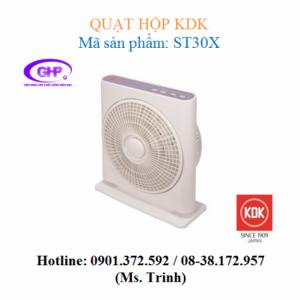 Quạt hộp KDK ST30X (xám bạc, tím bạc) giá rẻ