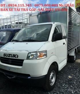 Xe mới- xe tải suzuki pro 740kg nhập khẩu - Bán xe tải suzuki 740kg trả góp xe mới 2016