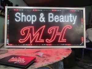 Bảng hiệu quảng cáo đèn led giá rẻ