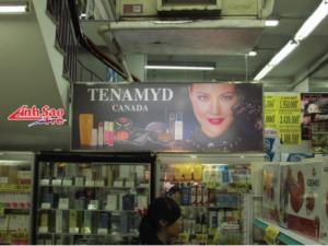 Hộp đèn quảng cáo mica giá rẻ