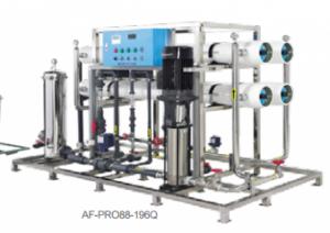 Hệ thống lọc nước công nghiệp, sản xuất