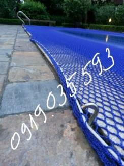 Thi công lưới an toàn thi công lưới che nắng lưới an toàn bể bơi