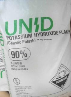 Potassium hydroxit, Kali hydroxit, KOH, 90% min