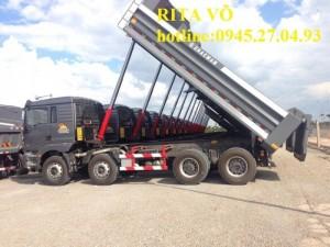 Xe ben SHACMAN 8x4 siêu xe tải trọng cao