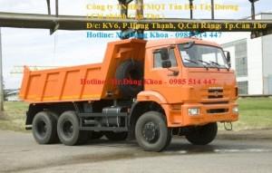Bán xe Ben Kamaz 65111,đời 2015,14 tấn,3 chân,3 cầu,nhập khẩu,mới