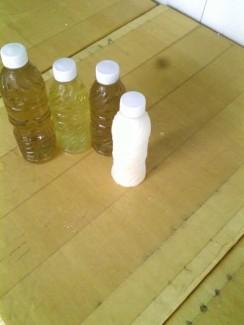 Nước giải nhiệt:nha đam,rễ tranh,sữa bắp