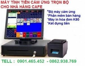 Lắp Đặt Máy Tính Tiền Cảm Ứng Cho Nhà Hàng Hải Sản Tại Kiên Giang
