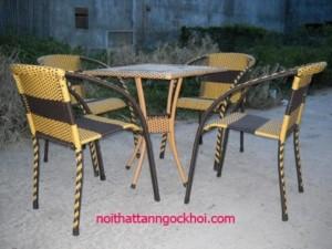 Bàn ghế sân vườn giá rẻ