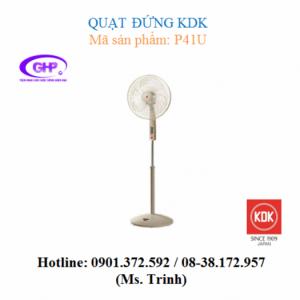 Quạt đứng KDK P41U (đen, trắng, đen lồng vàng, trắng lồng vàng) chính hãng
