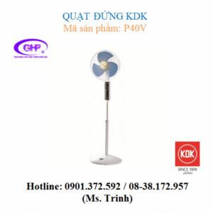 Quạt đứng KDK P40V (cánh xanh, xám, vàng) giá tốt nhất