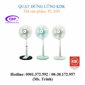 Quạt đứng lửng KDK PL30H (đen, xanh dương, trắng) giá tốt