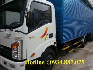 Giá bán xe tải veam vt340s 3.5 tấn (3t5) thùng dài 6.2m - xe tải Veam hyundai 3.49 tấn thùng dài 6m2