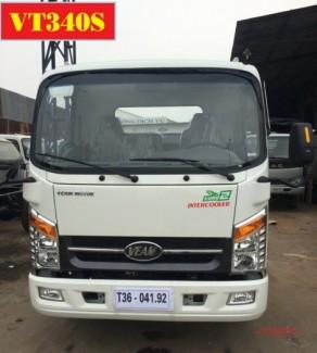 Xe Tải Veam Vt340s 3.49 Tân - Xe Đông Cơ Hyundai| Veam 3.49 Tấn Thùng Dài 6m2| Veam Vt3340s  3t49