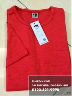 Áo thun cotton 100% vải xước