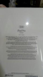 Cần bán ipad pro màu gold, 32gb, chính hãng new 100% của FPT