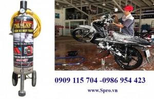 Thiết bị rửa xe máy chuyên nghiệp ở tp HCM
