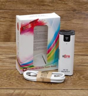 Bộ Router wifi 3G.4G FB LINK BW 07 Kiêm Pin Dự Phòng 2200MAH