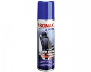 Sonax xtreme leather care foam - Bọt làm sạch và bảo dưỡng da cao cấp