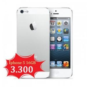 Giá sập sàn iphone 5 16g màu trắng