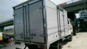 Xe tải veam VT158 thùng kín giá cả hợp lý, hỗ trợ mua xe trả góp, vay vốn ngân hàng lãi suất thấp