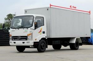 Xe tải veam VT340S thùng kín giá tốt